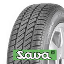 SAVA adapto 155/70 R13 75T TL M+S 3PMSF, celoroční pneu, osobní a SUV