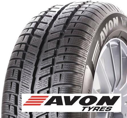 AVON wt7 snow 195/60 R15 88T TL M+S 3PMSF, zimní pneu, osobní a SUV