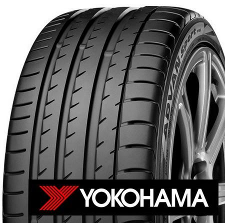 YOKOHAMA advan sport v105 245/35 R20 95Y TL XL ZR RPB, letní pneu, osobní a SUV