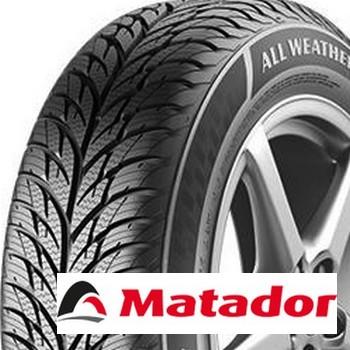 MATADOR mp62 all weather evo 155/70 R13 75T TL M+S 3PMSF, celoroční pneu, osobní a SUV