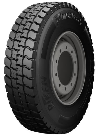 RIKEN ON OFF READY D 315/80 R22 156K, celoroční pneu, nákladní