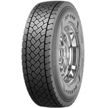 DUNLOP sp 446 3pmsf m+s 205/75 R17,5 124126M, celoroční pneu, nákladní