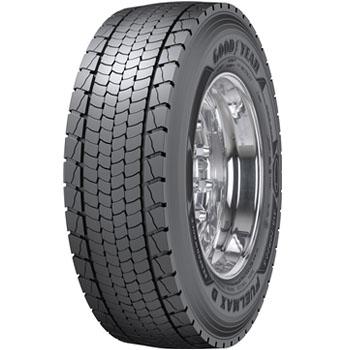 GOODYEAR fuelmax d performance 3pmsf m+s 315/70 R22,5 154L, celoroční pneu, nákladní