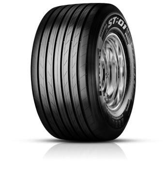 PIRELLI st:01 megatrailer m+s frt 435/50 R19,5 160J FRT TL, celoroční pneu, nákladní