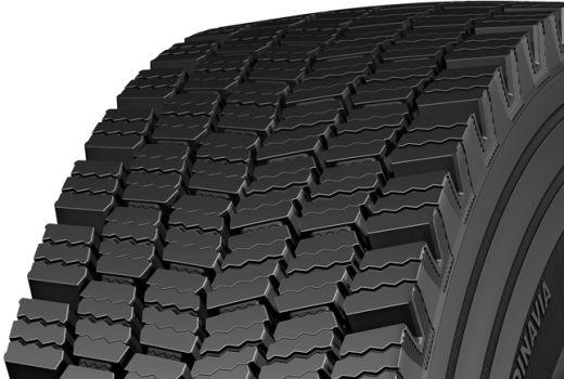 CONTINENTAL hdw 2 scandinavia 3pmsf m+s 275/70 R22,5 148M, zimní pneu, nákladní
