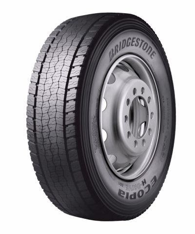 BRIDGESTONE ecopia h-drive 001 3pmsf m+s 295/80 R22,5 152M TL, celoroční pneu, nákladní