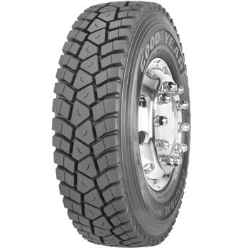 GOODYEAR Omnitrac MSD II PLUS M+S 3PMSF 325/95 R24 162K, celoroční pneu, nákladní