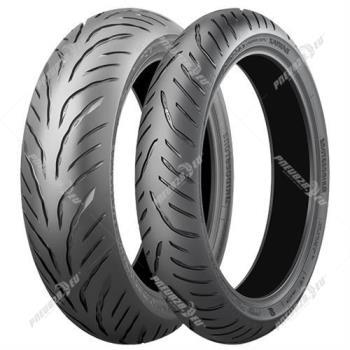 BRIDGESTONE battlax t32 180/55 R17 73W, celoroční pneu, moto