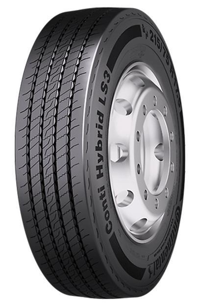 CONTINENTAL HYBRID LS3 3PMSF 245/70 R17,5 136M, letní pneu, nákladní