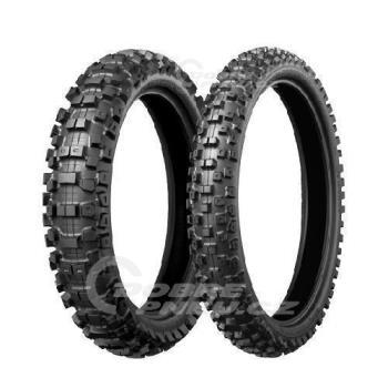BRIDGESTONE m404 80/100 R12 41M, celoroční pneu, moto