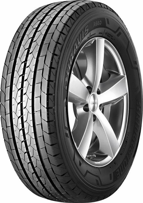 BRIDGESTONE duravis r660 195/65 R16 100T, letní pneu, VAN, sleva DOT