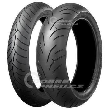 BRIDGESTONE bt023r 180/55 R17 73W TL ZR, celoroční pneu, moto