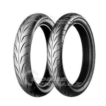 BRIDGESTONE bt39fss 80/90 R17 44S TL, celoroční pneu, moto