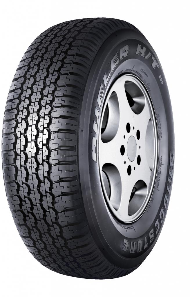 BRIDGESTONE dueler 689 h/t 245/70 R16 111S TL M+S RFD, letní pneu, osobní a SUV