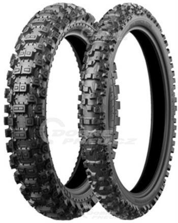 BRIDGESTONE x40r 110/100 R18 64M TT NHS, celoroční pneu, moto