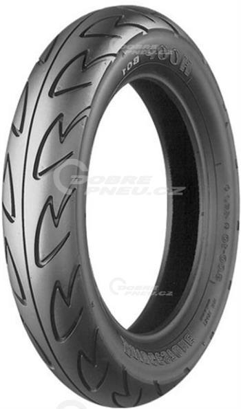 BRIDGESTONE b01 90/90 R12 44J TL, celoroční pneu, moto