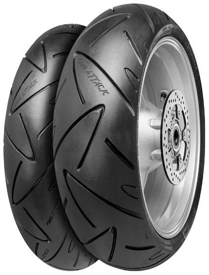 CONTINENTAL conti sport attack 190/50 R17 73W TL ZR, celoroční pneu, moto