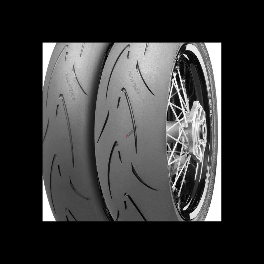 CONTINENTAL conti classic attack 100/90 R19 57V TL, celoroční pneu, moto