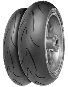 CONTINENTAL conti race attack compend med 180/60 R17 75W TL ZR, letní pneu, moto