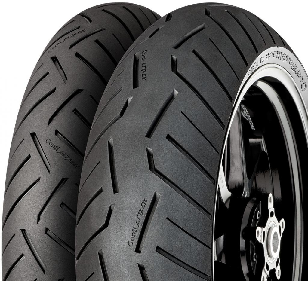 CONTINENTAL conti road attack 3 180/55 R17 73W TL ZR, celoroční pneu, moto