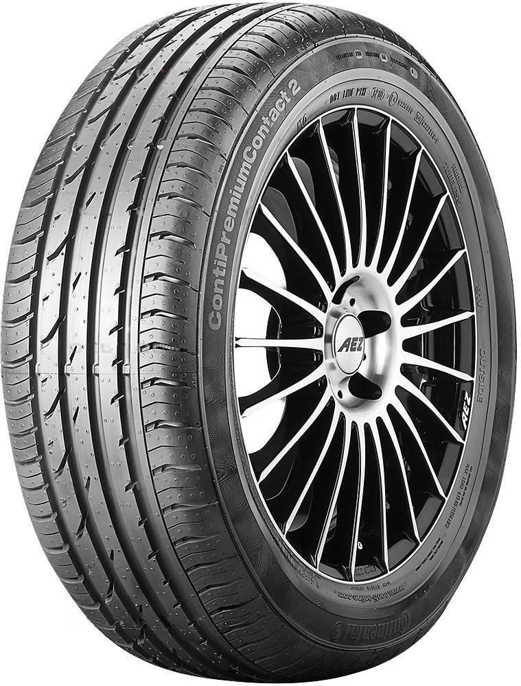 CONTINENTAL conti premium contact 2 e 245/55 R17 102W TL ROF SSR, letní pneu, osobní a SUV