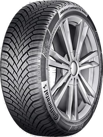 CONTINENTAL wintercontact ts 860 165/70 R14 81T, zimní pneu, osobní a SUV, sleva DOT