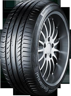 CONTINENTAL contiecocontact 5 185/50 R16 81H TL, letní pneu, osobní a SUV