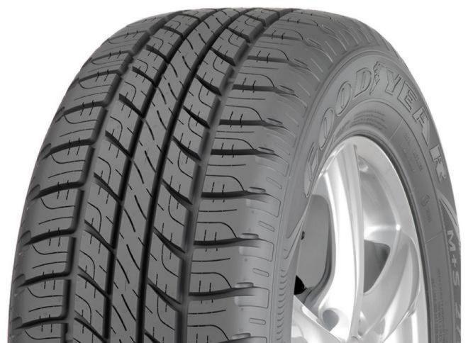 GOODYEAR wrangler hp all weather 245/70 R16 107H TL M+S FP, letní pneu, osobní a SUV