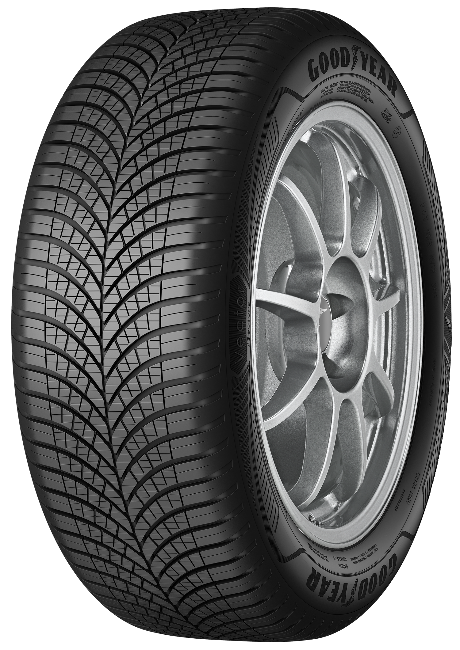 GOODYEAR vector 4seasons g3 suv 255/45 R19 104W, celoroční pneu, osobní a SUV