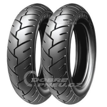 MICHELIN s1 3/80 R10 50J, celoroční pneu, moto