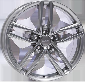 """alu kola ALUTEC IKENU metal grey - šedý lesk 6,5x16"""" 5x108 ET50 63,4"""