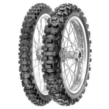 PIRELLI scorpion xc mid hard 110/100 R18 64M, celoroční pneu, moto, sleva DOT