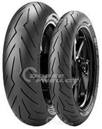 PIRELLI diablo rosso iii 180/55 R17 73W TL ZR, celoroční pneu, moto