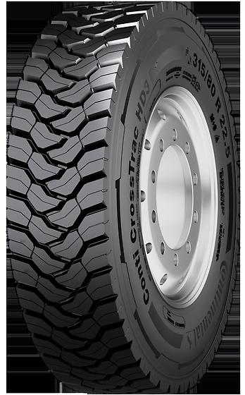 CONTIRE contire crosstrac hd3 20p 315/80 R22 156K, letní pneu, nákladní