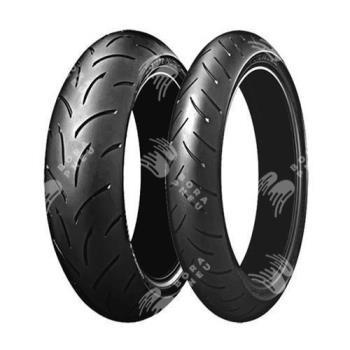 BRIDGESTONE bt015 120/70 R17 58W TL ZR, celoroční pneu, moto