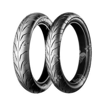 BRIDGESTONE bt39ssr 100/80 R17 52S TL, letní pneu, moto