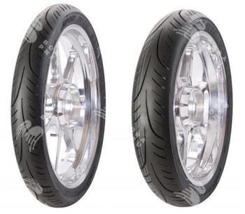 AVON streetrunner av83 univ 100/80 R17 52S TL, celoroční pneu, moto