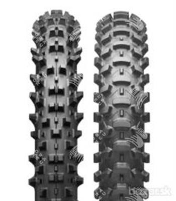 BRIDGESTONE x10f 80/100 R21 51M TT, celoroční pneu, moto